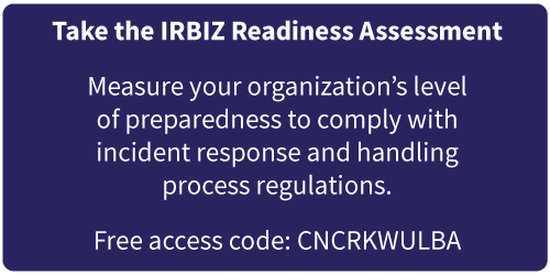 IRBIZ readiness